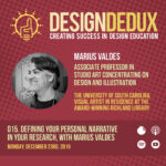 015. Defining Your Personal Narrative in Your Research, with Marius Valdes (S1E7)