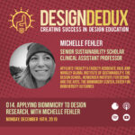 014. Applying Biomimicry to Design Research, with Michelle Fehler (S1E6)