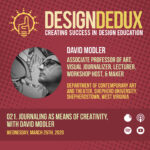 021. Journaling as Means of Creativity, with David Modler (S2E5)
