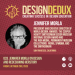 033. Jennifer Morla on Design and Redesigning HERstory (S4E1)